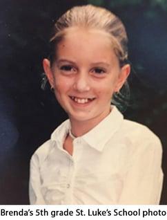 St. Luke's Brenda Meany in 5th Grade