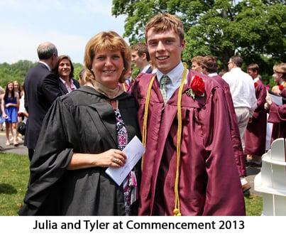 Julia and Tyler St Lukes Commencement