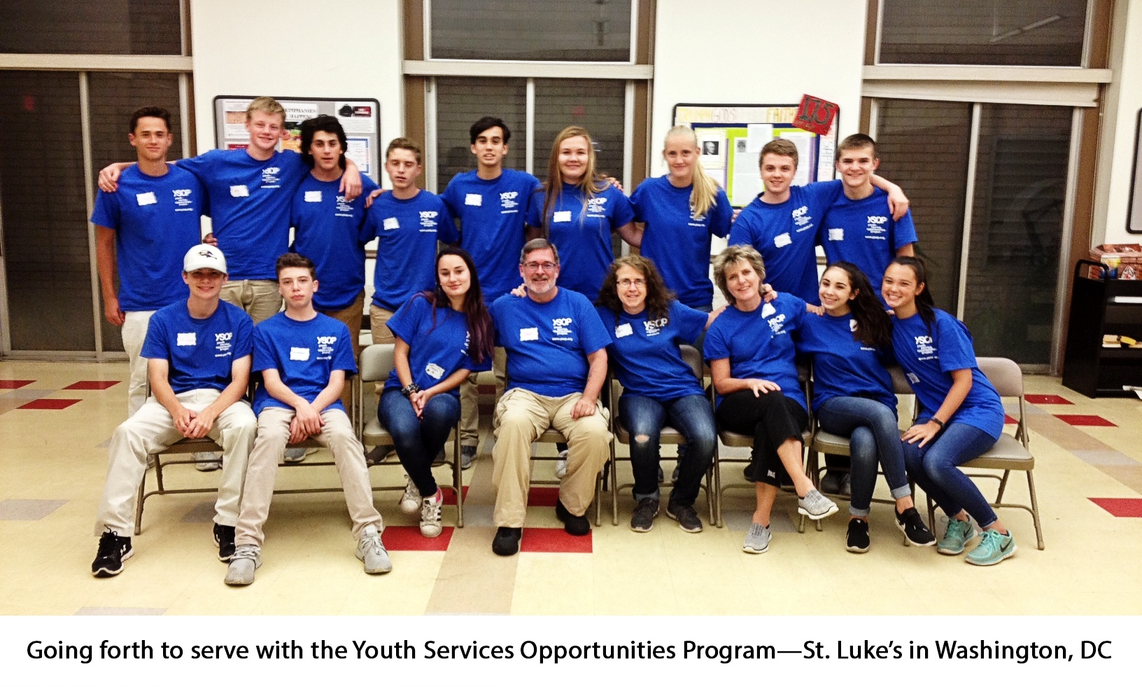 St. Luke's students and faculty serve with YSOP 2018