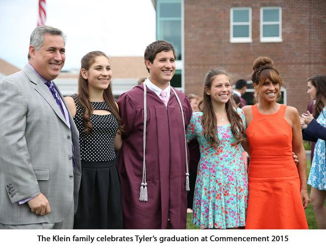 The-Klein-family-celebrates-Tylers-Graduation-2015